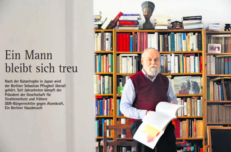 Der Mann, der den DDR-Atomausstieg herbeiführte